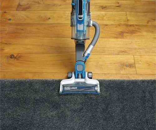 PowerSeries Pro carpet bare floors