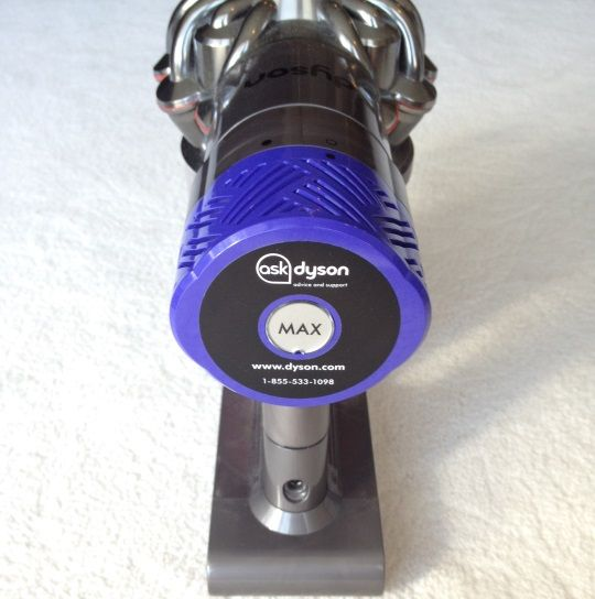 Dyson V6 Power Button