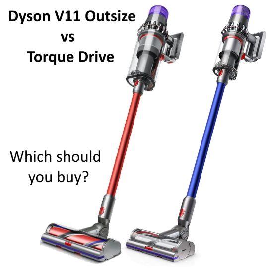 Dyson V11 Outsize vs Torque Drive