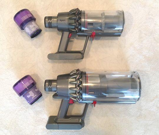 V11 Outsize vs Torque Drive filters