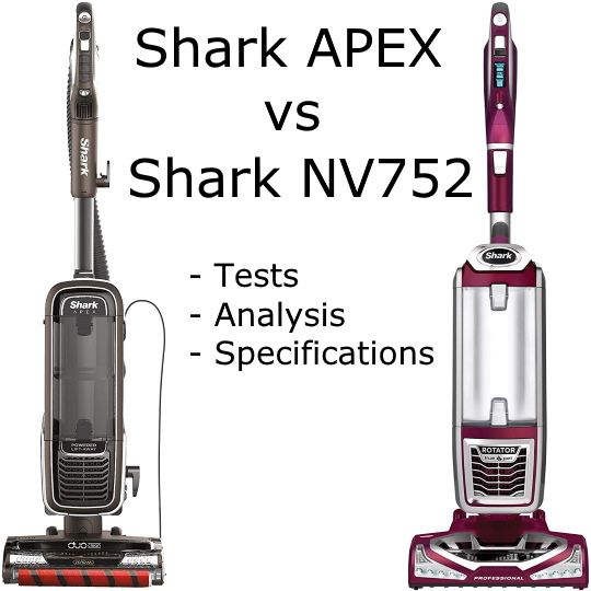 Shark APEX vs NV752