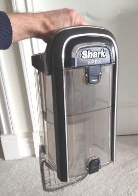 Shark APEX Dust Canister