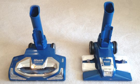 Shark Speed 2 cleaning heads