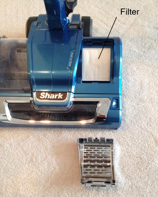 Shark Rocket Powerhead Post Motor Filter