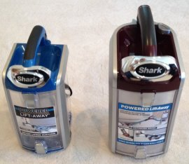 Shark nv682 vs nv752 dust canisters