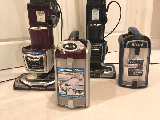 Shark vacuum dust canisters