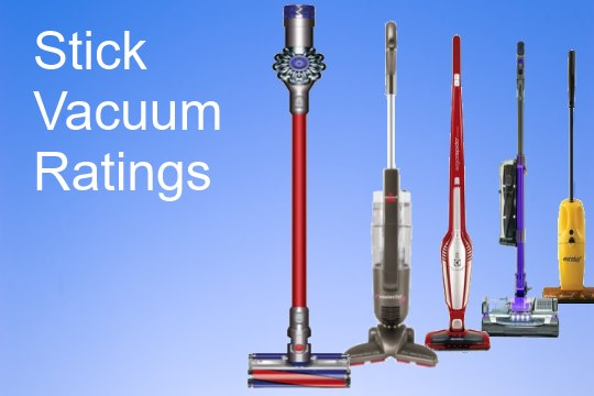 stick vacuum ratings