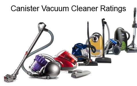 Canister Vacuum Ratings