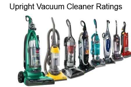 Upright Vacuum Ratings